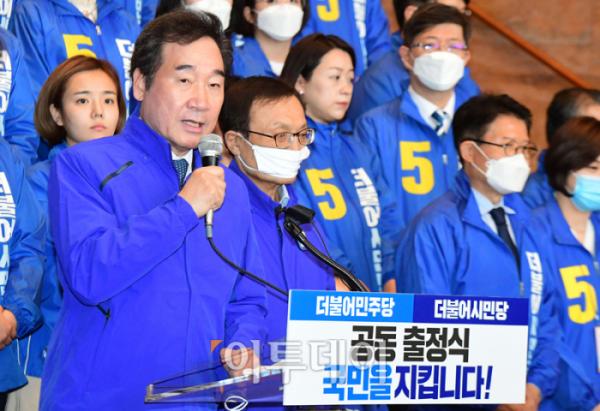 ▲이낙연 더불어민주당 공동상임선거대책위원장.(고이란 기자 photoeran@)