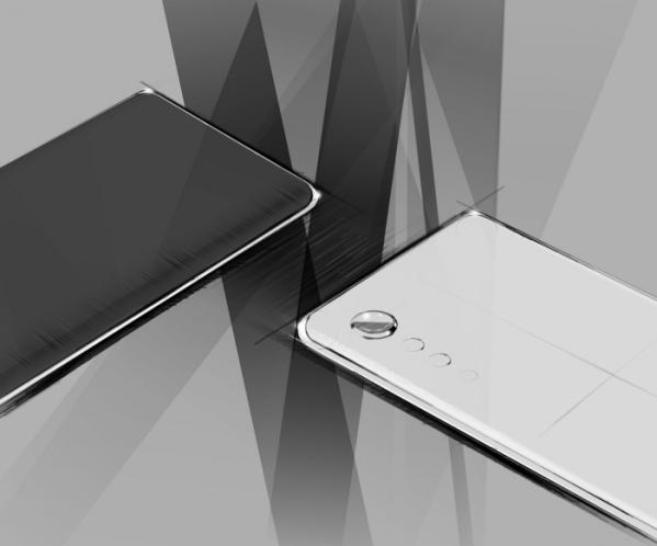 ▲내달 국내 시장에 출시 예정인 전략 스마트폰 디자인 렌더링 이미지. (사진제공=LG전자)