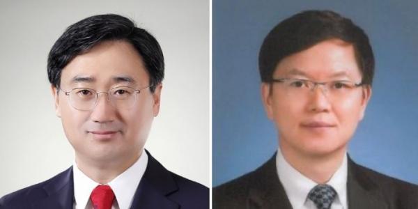 ▲충남 천안시갑 선거구에 출마한 미래통합당 신범철 후보(왼쪽)와 천안시을에 출마한 이정만 후보.