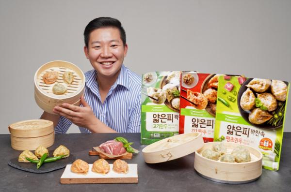 ▲홍태관 만두 CM (풀무원식품)