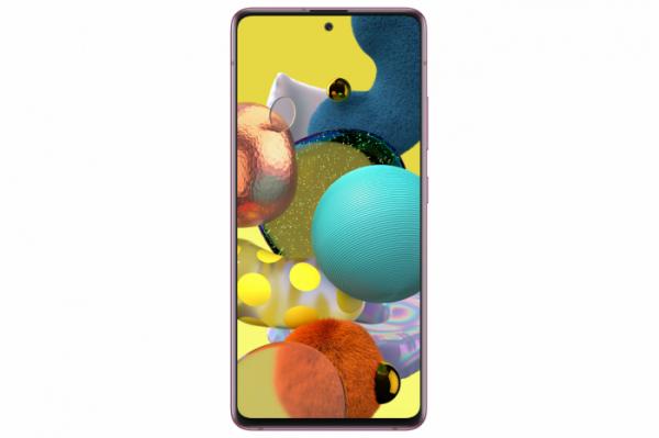 ▲7일 북미 출시를 앞둔 삼성전자 중저가 5G 스마트폰 라인 갤럭시_A51 5G.  (사진제공=삼성전자)