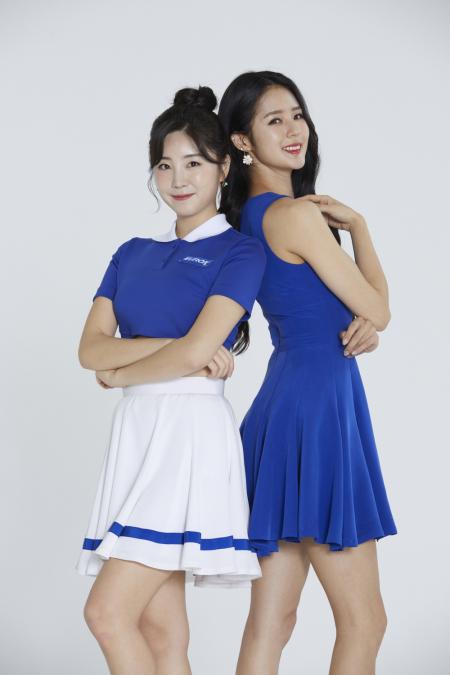 롯데정밀화학, 치어리더 박기량ㆍ안지현 앞세운 '유록스' 新광고 선보여