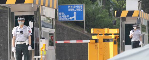 ▲11일 용산 국방부 모습.  (연합뉴스)