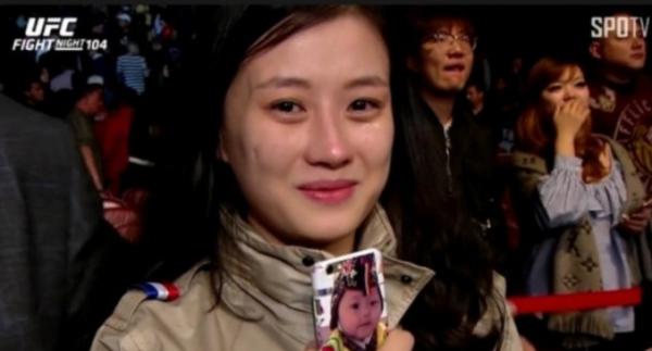 ▲정찬성 아내 박선영 씨 (출처=SOPTV)
