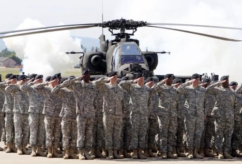 ▲도널드 트럼프 대통령이 독일 주둔 미군 감축을 지시했다. AP연합뉴스