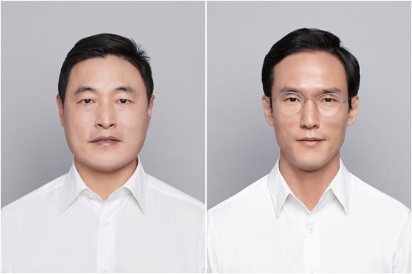 ▲조현식 부회장(왼쪽)과 조현범 사장(오른쪽).  (사진제공=한국테크놀로지그룹. )