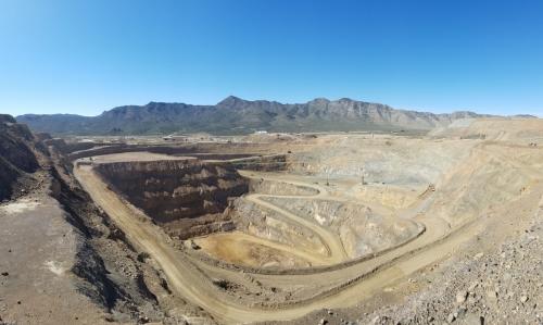 ▲미국 캘리포니아주 샌 버나디노에 있는 '마운툰 패스' 희토류 광산. 캘리포니아/AP연합뉴스