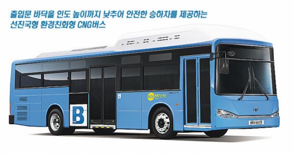 ▲자일대우의 도시형 버스 NEW BS 110  (사진제공=자일대우상용차)