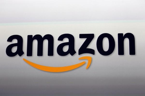▲미 캘리포니아 산타모니카에 있는 아마존 로고. 산타모니카/AP연합뉴스
