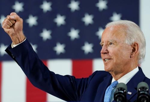 ▲미국 민주당 대선 후보 조 바이든 전 부통령. 로이터연합뉴스