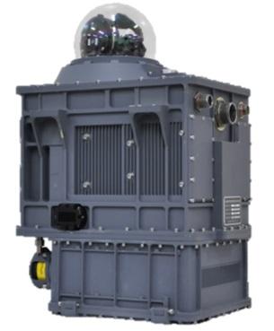 ▲한화시스템이 개발한 '지향성적외선방해장비(DIRCM)' 제품 모습. (사진제공=한화시스템)