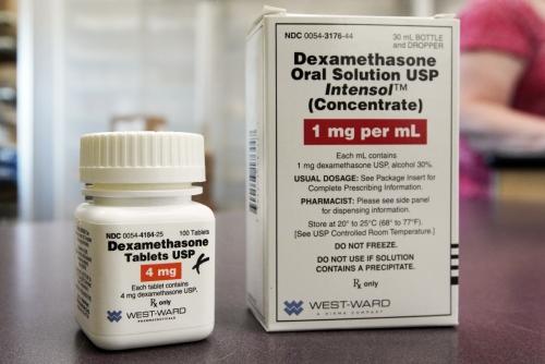▲신종 코로나바이러스 감염증(코로나19) 치료제로 주목받는 덱사메타손. AP뉴시스
