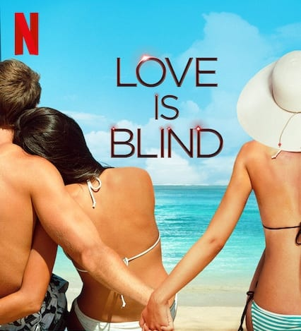 ▲'연애실험: 블라인드 러브'의 공식 포스터 (출처=넷플릭스)