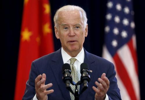 ▲미국 민주당 대선 후보인 조 바이든 전 부통령. 로이터연합뉴스