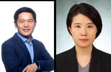 ▲이용우 사장(왼쪽), 송미영 인재개발원장 상무(오른쪽)  (사진제공=현대차)
