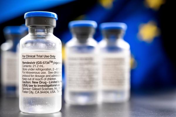 ▲신종 코로나바이러스 감염증(코로나19) 치료제 렘데시비르. EPA연합뉴스