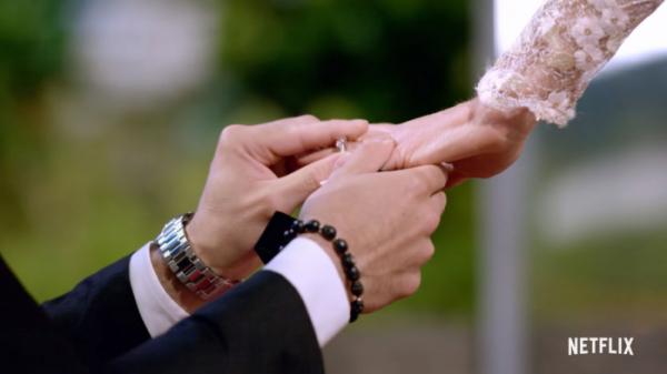 ▲'연애실험: 블라인드 러브'의 몇몇 커플은 실제 결혼에 성공했지만, 몇몇은 이뤄지지 못했다. (출처=넷플릭스 유튜브 캡처)