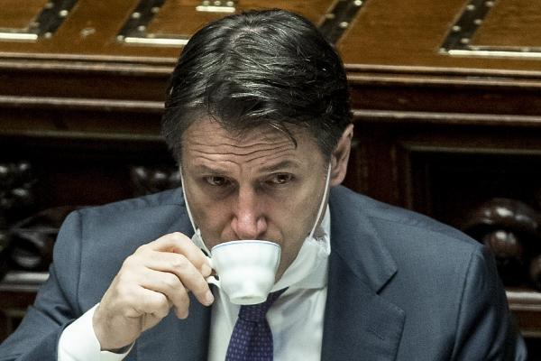 ▲주세페 콘테 이탈리아 총리. AP연합뉴스