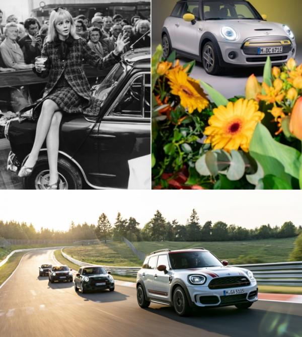 ▲암팡진 디자인이 최대 매력인 미니(MINI)는 60년을 넘어선 '브랜드 헤리티지'와 다양한 스타일 컬렉션 등을 더해 전세계 여성에게 큰 사랑을 받고 있다. 차고 넘치는 고성능은 여기에 반전 매력까지 더한다.  (출처-BMW그룹프레스클럽)