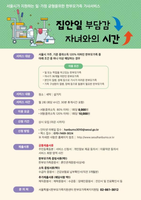 (출처=서울특별시한부모가족지원센터 홈페이지)