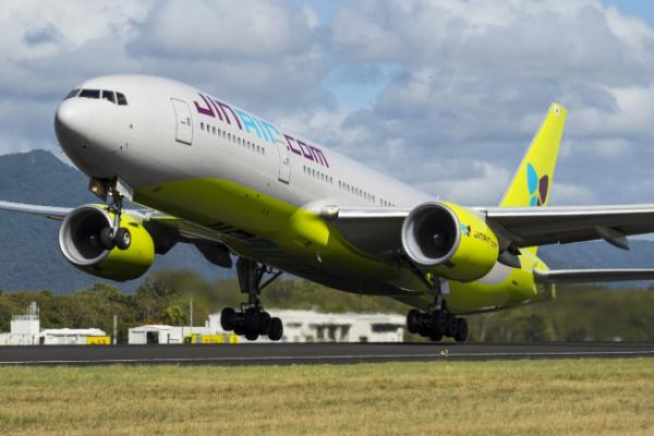 ▲진에어 B777-200ER. 진에어가 '항공 스케줄 통합 운영 시스템(ARMS)'을 도입해 현업 적용을 완료했다. (사진제공=진에어)
