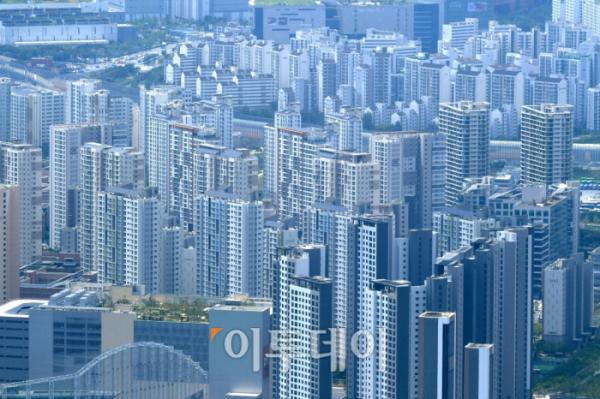 ▲서울 강남 일대 아파트 밀집지역. 신태현 기자 holjjak@ (이투데이DB)