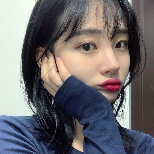 ▲동성연인과 결별을 알린 솜해인 (출처=솜해인 SNS 캡처)