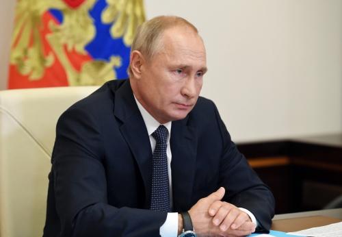 ▲블라디미르 푸틴 러시아 대통령은 11일(현지시간) 코로나19 백신을 세계에서 처음으로 승인했다고 밝혔다. EPA연합뉴스