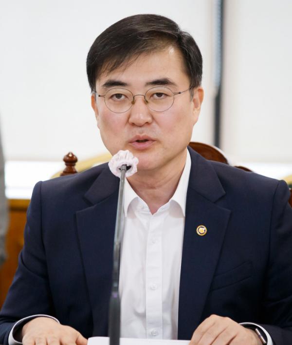 ▲손병두 금융위원회 부위원장 (사진제공=금융위원회)