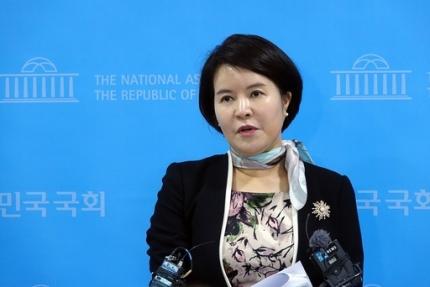▲허윤정 민주당 대변인 (연합뉴스)