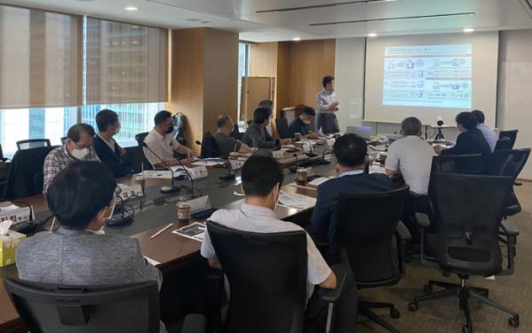 ▲12일 한국기술센터에서 코로나19 대응을 위한 비대면 서비스 산업을 육성하고 핵심 과제를 발굴하기 위해 개최한 '지식서비스 R&D 포럼' 모습. (사진제공=한국산업기술평가관리원)
