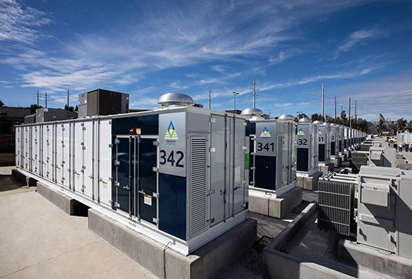 ▲삼성SDI가 캘리포니아 지역에 설치한 ESS 배터리 모습 (출처=삼성SDI 홈페이지)