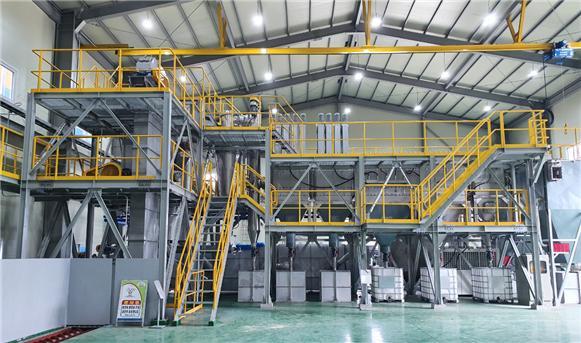 ▲1일 20톤 바이오 원유 생산 공장 사진  (대경에스코)