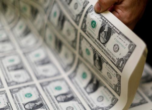 ▲미국 달러. 로이터연합뉴스