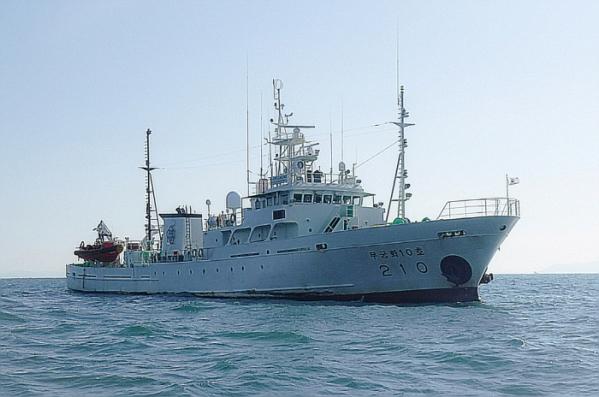 ▲21일 실종된 해양수산부 어업지도공무원이 타고 있던 무궁화 10호. (해양수산부)