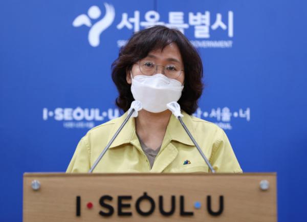 ▲박유미 서울시 재난안전대책본부 방역통제관.