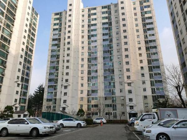 ▲경기 하남시 창우동 521 꿈동산 신안아파트 418동. (사진제공=지지옥션)