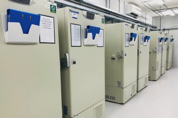 ▲네덜란드 펜로에 있는 UPS의 '냉동농장'. 이곳에 있는 냉동고는 영하 80℃의 초저온이 요구되는 백신과 약품들을 저장할 수 있다. 사진제공 UPS