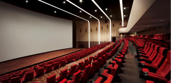 ▲롯데시네마 영화관 실내 모습 (사진제공=롯데시네마)