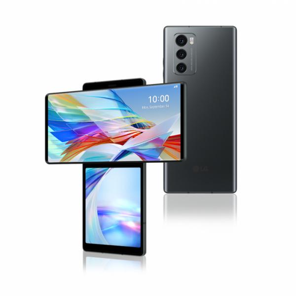 ▲LG전자 전략 스마트폰 'LG 윙' 제품사진. (사진제공=LG전자)