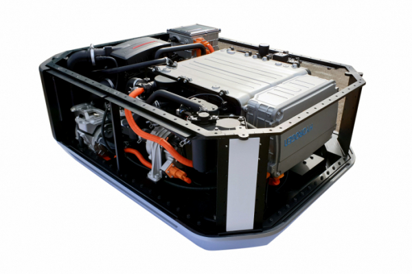 ▲현대자동차가 GRZ 및 유럽 에너지 솔루션 스타트업에 수출한 넥쏘 수소연료전지 시스템  (사진제공=현대차)