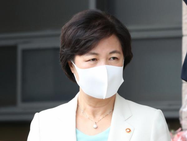 ▲법무부 나서는 추미애 장관 (연합뉴스)