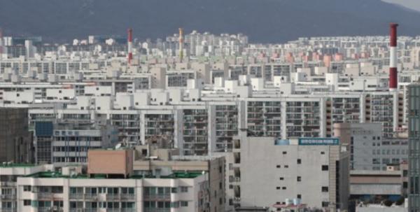 ▲서울 노원구 일대 아파트 밀집지역. (사진 제공=연합뉴스)