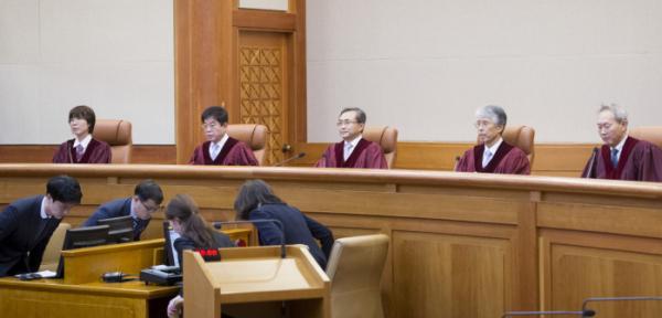 ▲지난해 4월 11일 헌법재판소는 '낙태죄 헌법 불합치' 판결을 내렸다. (뉴시스)