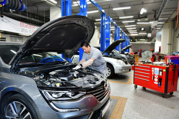 ▲르노삼성자동차가 추석을 맞아 23일부터 25일까지 3일간 전국 12개 직영서비스센터에서 '2020년 추석맞이 무상점검 서비스'를 실시한다.  (사진제공=르노삼성)
