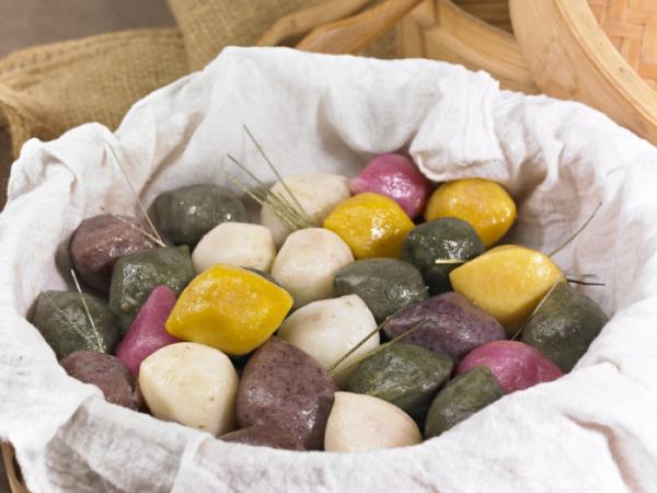 ▲대표적인 추석 음식인 송편은 1인분(100g) 당 219칼로리에 달한다.  (게티이미지뱅크)