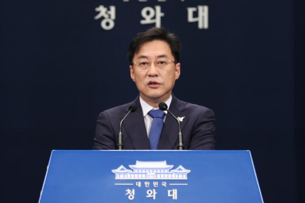 ▲강민석 청와대 대변인 (연합뉴스)