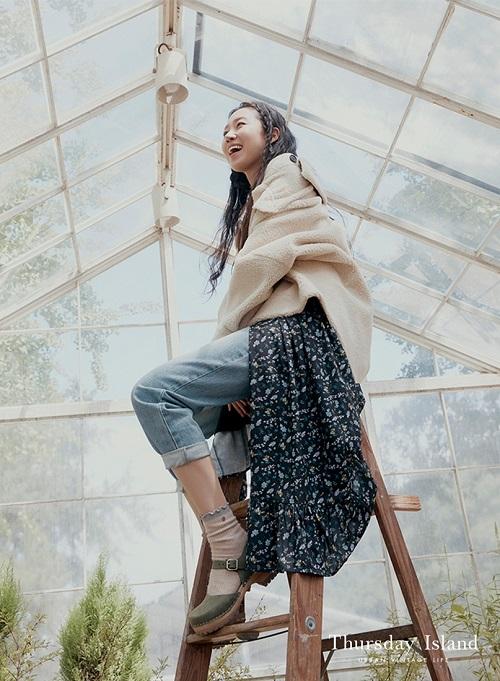 '에코 프렌들리 패션' 써스데이 아일랜드, 에코퍼 컬렉션 선보여