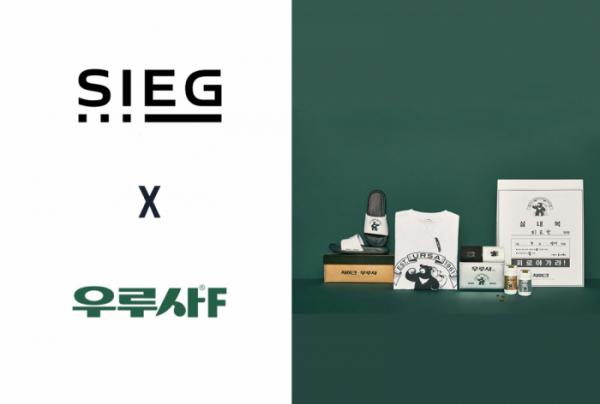 ▲지이크(SIEG)로고와 우루사 로고, 콜라보레이션한 굿즈 (출처=대웅제약)