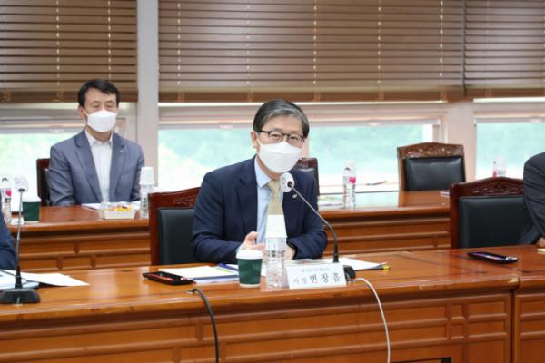 ▲한국토지주택공사(LH)는 15일 경기 성남시 오리동 사옥에서 'LH 그린(친환경) 리모델링 사업 추진 협의체'를 발족했다. (사진 제공=LH)